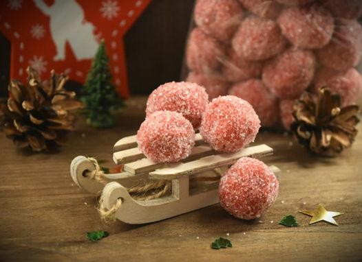«Клюква в сахаре» сахарный скраб