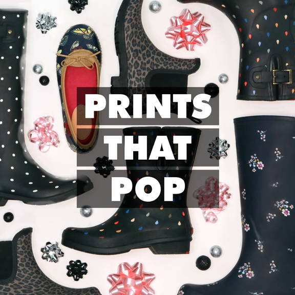 Prints That Pop: shop our favorite printed and patterned styles