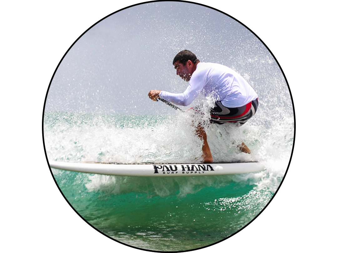 Carlos Macias: Paddle Surfer, Distance Racer Pau Hana Surf Supply Team Rider