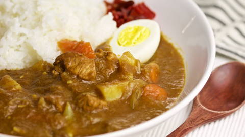 Pimped Japanese Spicy Curry Rice