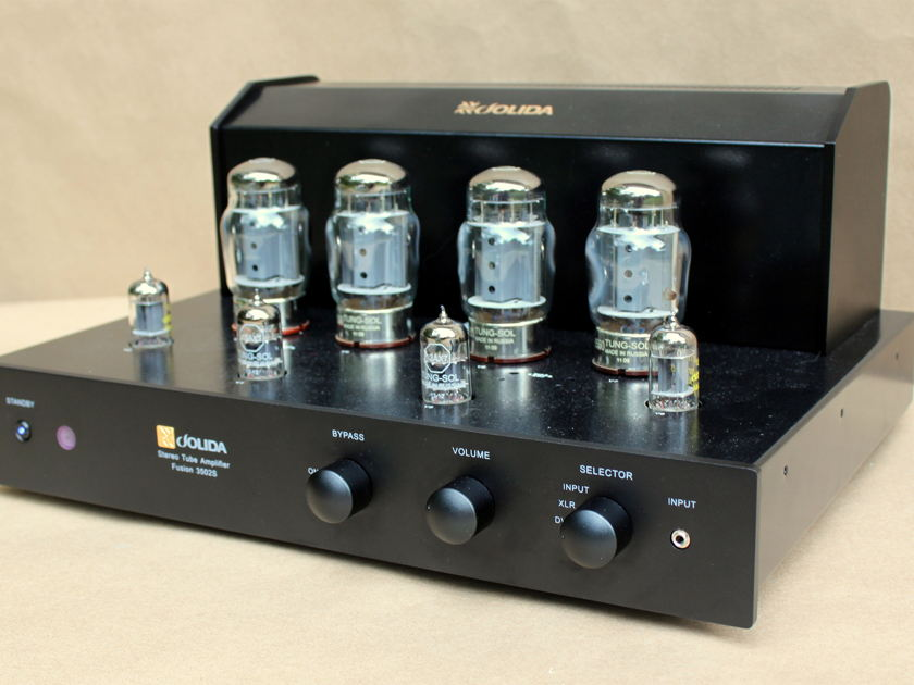 Jolida Fusion 3502S Tube Integrated Amplifier with 6550's