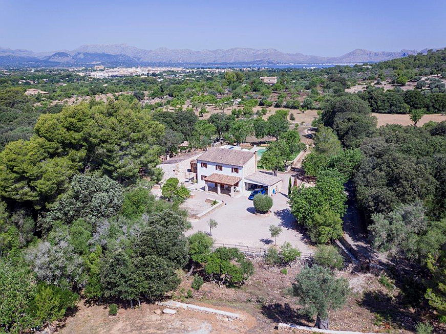 Pollensa - Gorgeous country house with guest house in Alcudia
