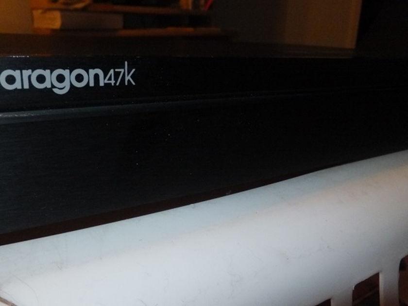 Aragon Phono Preamp 47K , Spec sheet  ,original carton Custom improved Power Supply