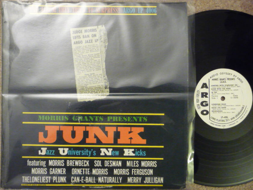 MORRIS GRANTS - JUNK ARGO LP