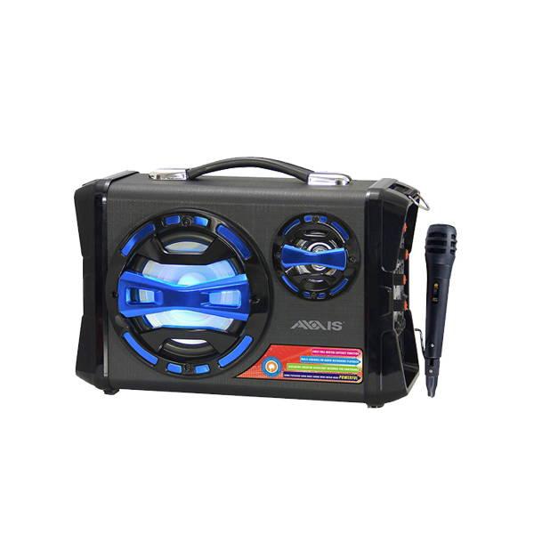AXXIS Sistema de Altoparlante Portátil con Micrófono (AXX-SP-BK025B)