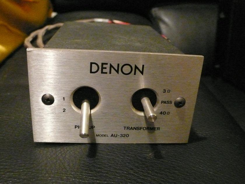 Denon  AU-320 stepup transformer great with Denon 103-series cartridges