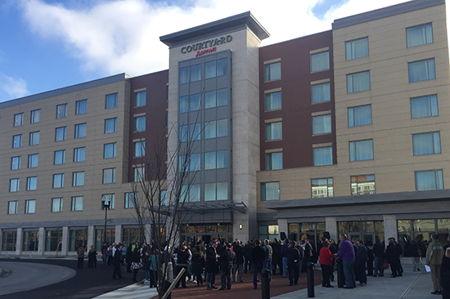 Delta Tau Delta is First Major Conference Filling Unique New Hotel