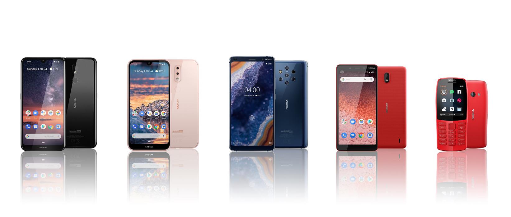 Bemutatkozott a Nokia 1 Plus, a Nokia 210, a Nokia 3.2 és 4.2