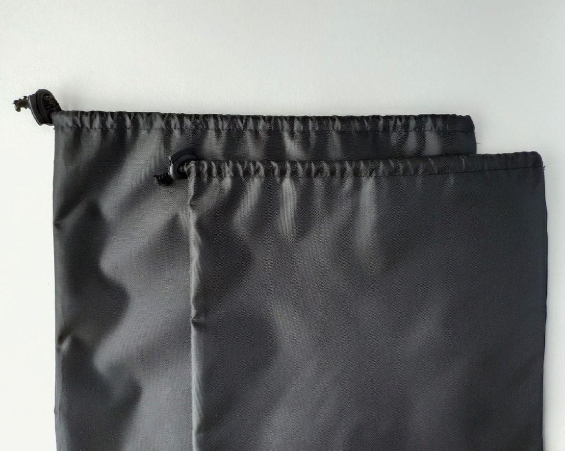 Средний черный мешочек из водонепроницаемой ткани М