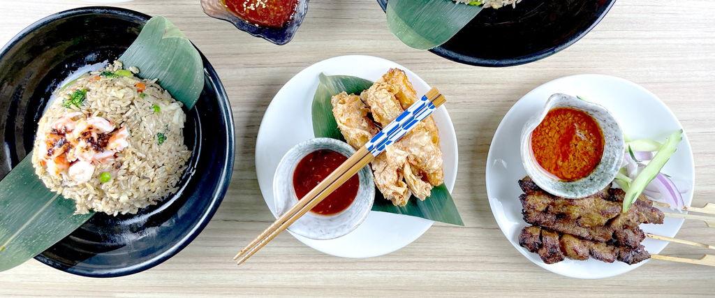 Ugly Dumplings & Fried Rice