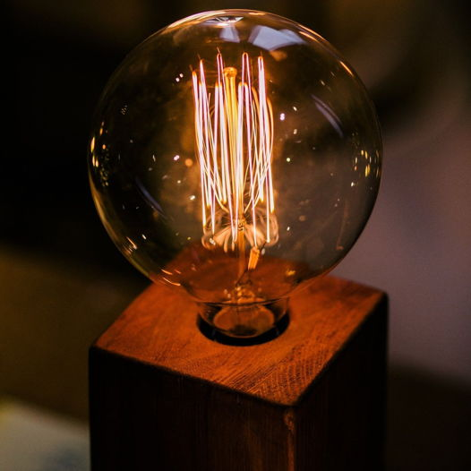 Светильник Эдисона с диммером