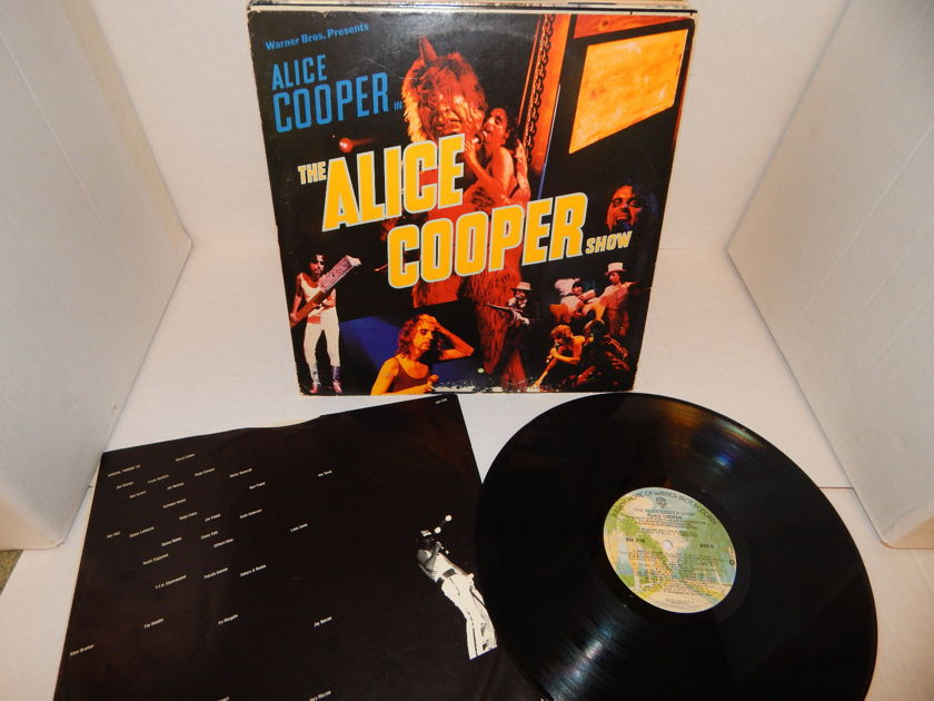 ALICE COOPER The Alice Cooper Show - 77 BSK 3138 Palm Tree Top-loader w/sleeve NM vinyl LP