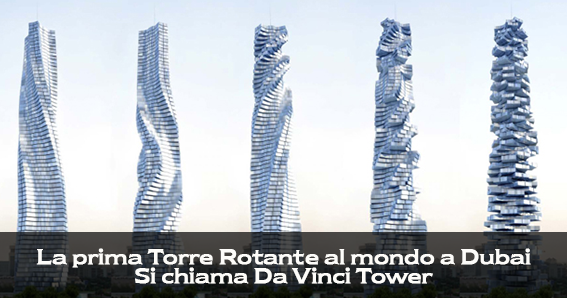 Catania - Da Vinci Tower a Dubai