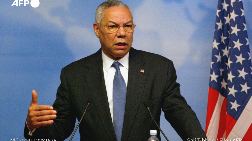 DATING US SECRETARY OF STATE COLIN POWELL, PUMANAW NA
