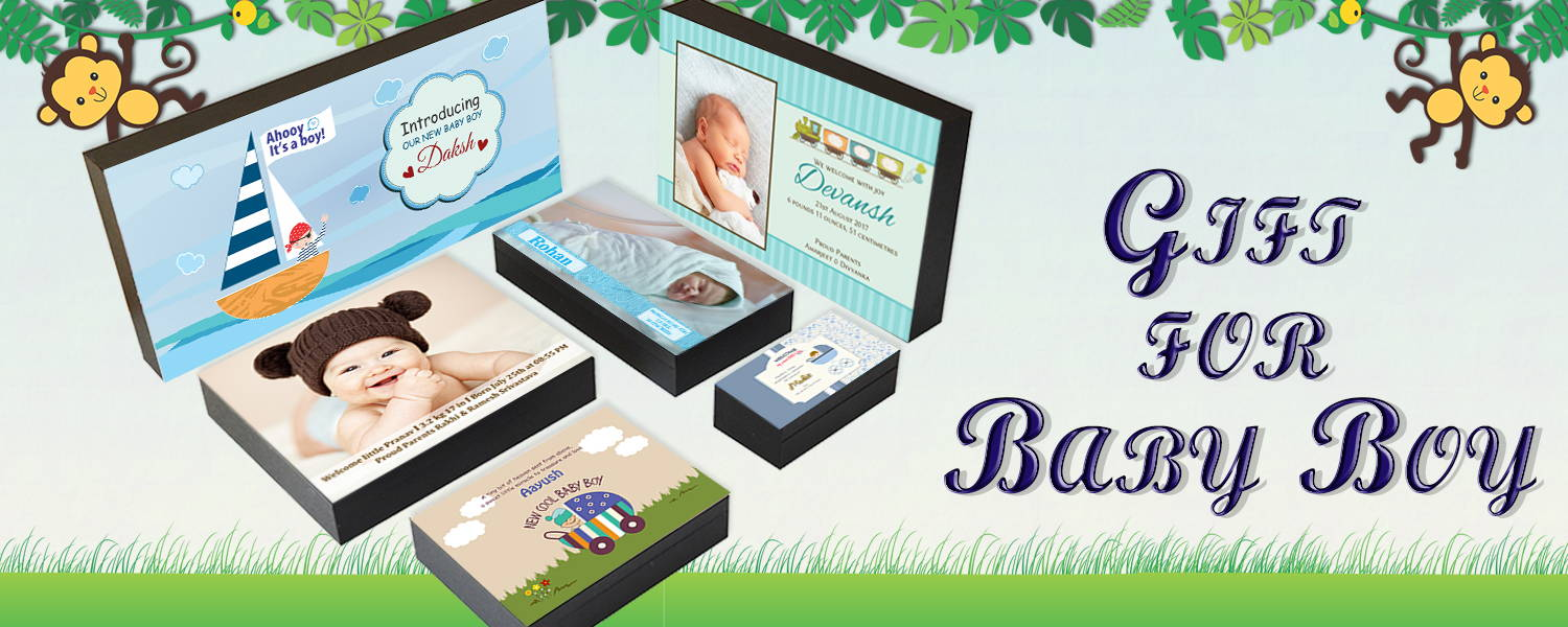 Baby Boy Birth Announcement Gifts I New Born Announcement Gift Ideas