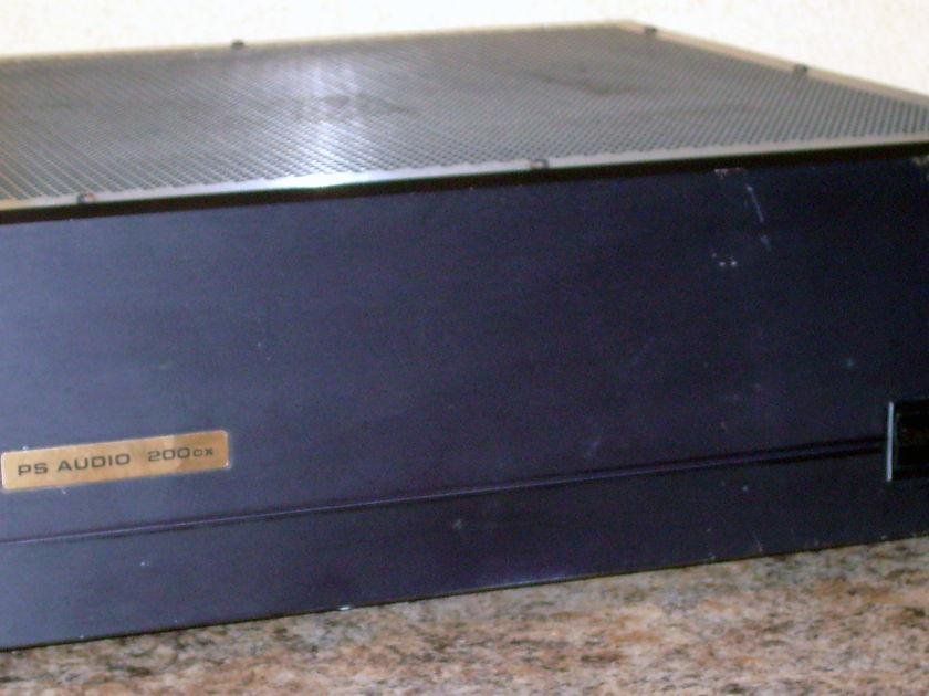 PS Audio 200CX Signature Series Power Amplifier, Used, Sounds Fantastic!