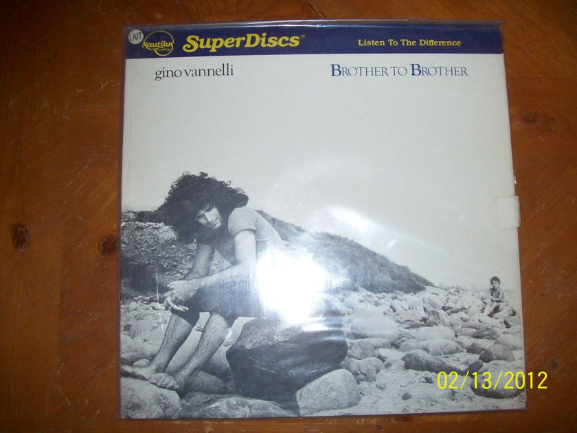 Gino Vannelli - Brother to Brother Nautilus Super Disc