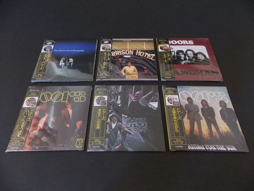 DOOR AUDIOPHILE - MINI LP CD COLLECTION DOORS AUDIOPHILE MINI LP CD COLLECTION AUDIO FIDELITY DCC