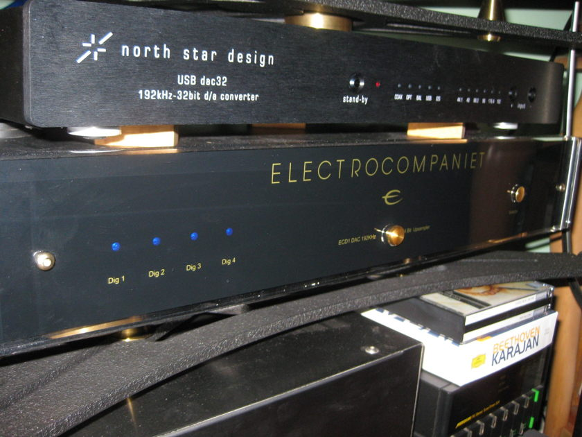 Electrocompaniet ECD-1 Upsampling DAC