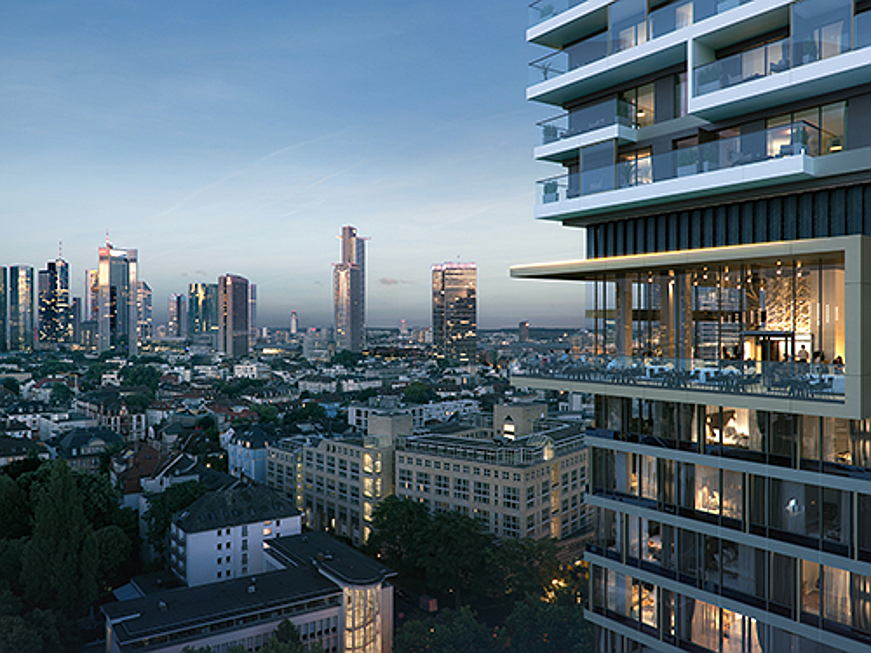Sintra - Frankfurt is one of the most lucrative property markets in Germany, and the ONE FORTY WEST development is the latest addition to this dynamic ci