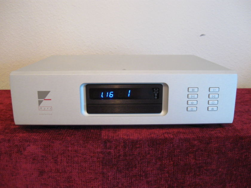 AYRE ACOUSTICS CX-7e Balanced Cd Player w/ new Factory Remote Astonishing Cd Player!
