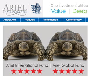 Ariel Investments sued $23 billion AUM Shenkman Capital Management for using Aesop's slow-and-steady tortoise in its advertising.