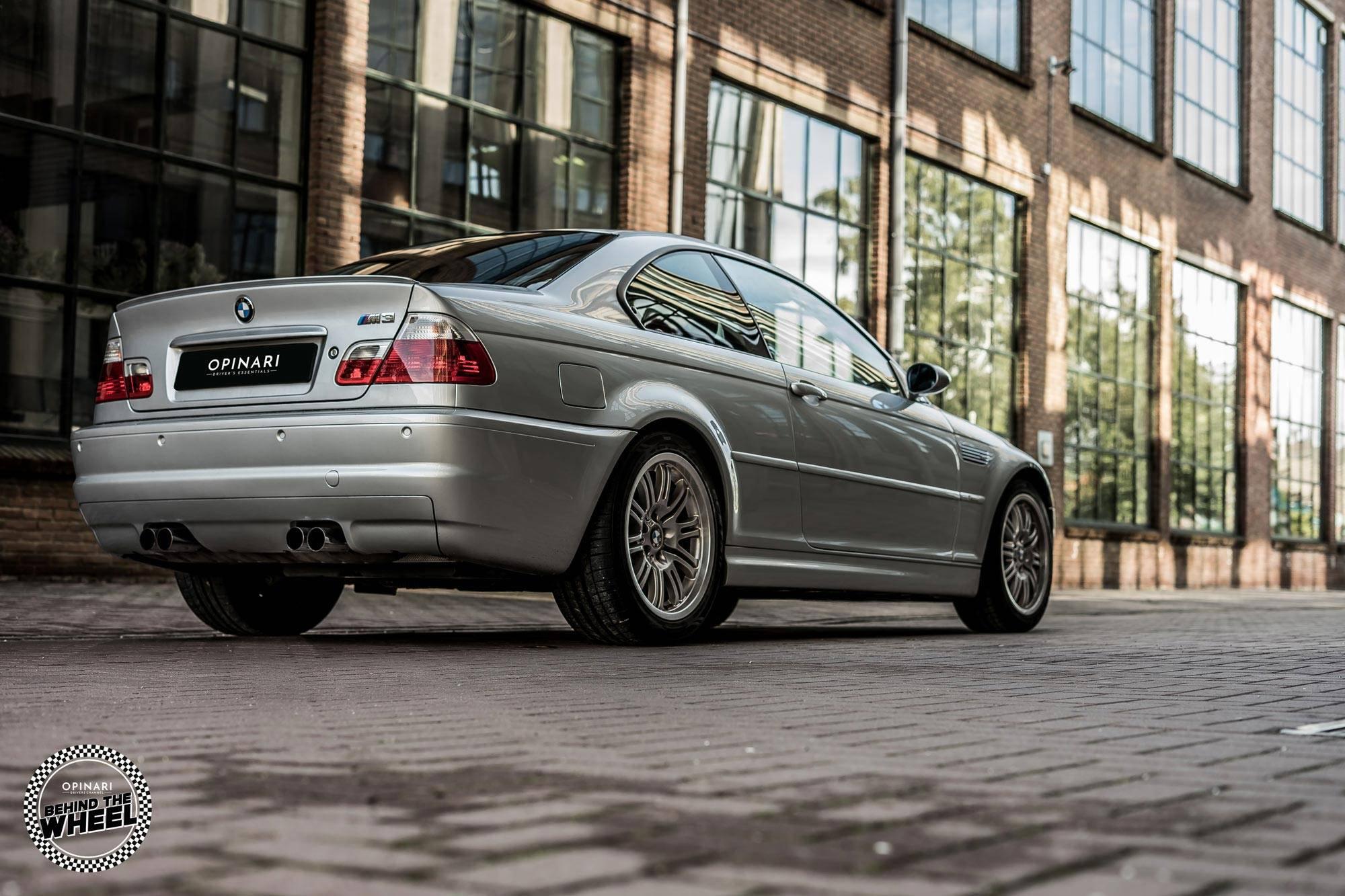 BMW M3 E46 back