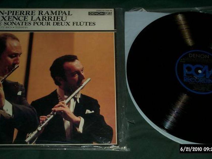 Jean-Pierre Rampal - Denon Japan LP pcm digital vinyl nm