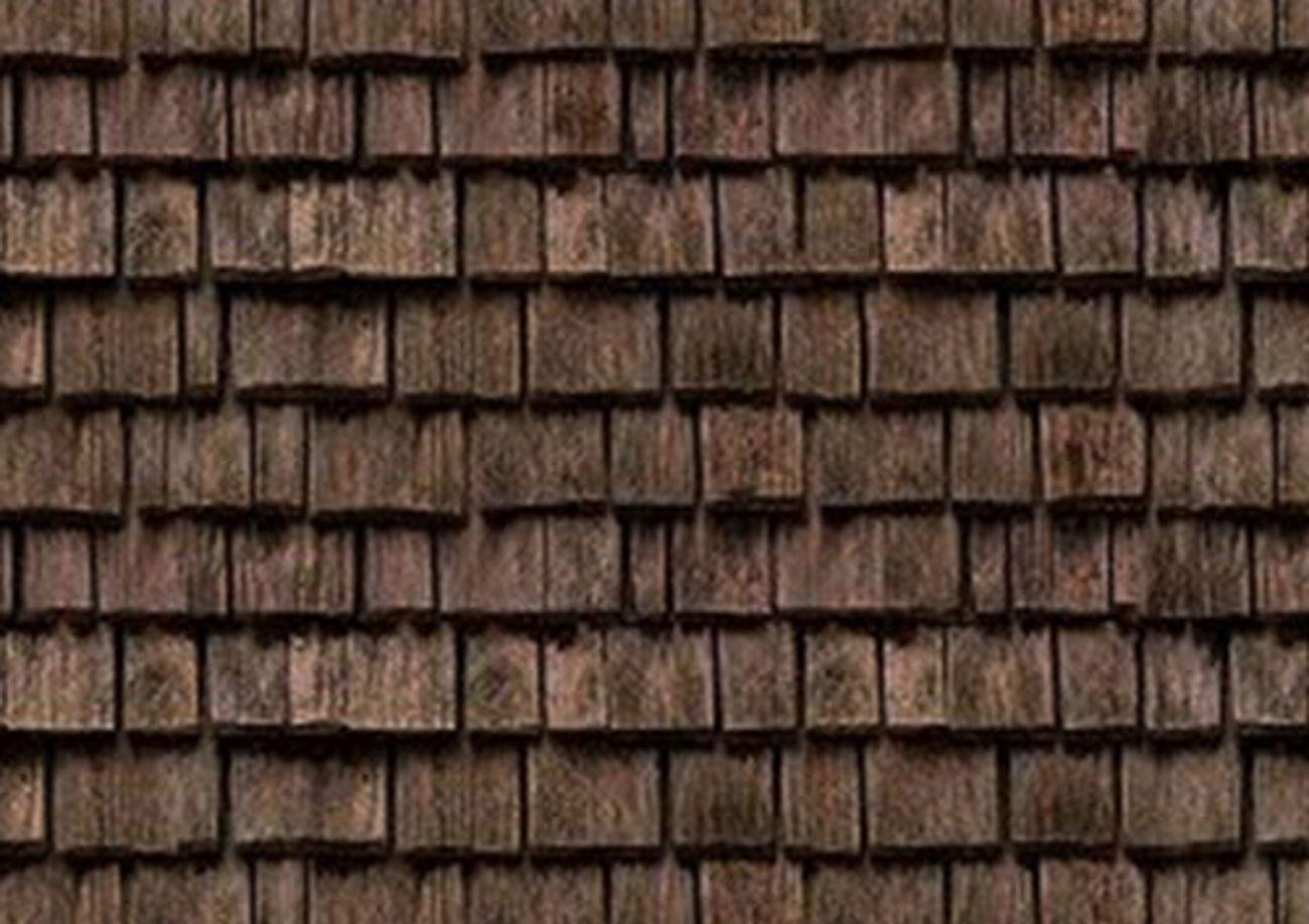 Wood-shingles