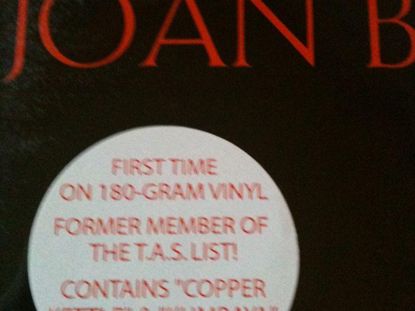 Joan Baez In Concert - TAS Recommended cisco records, still sealed