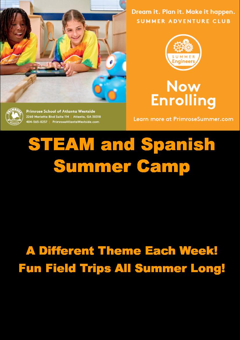Summer camp enrollment Atlanta