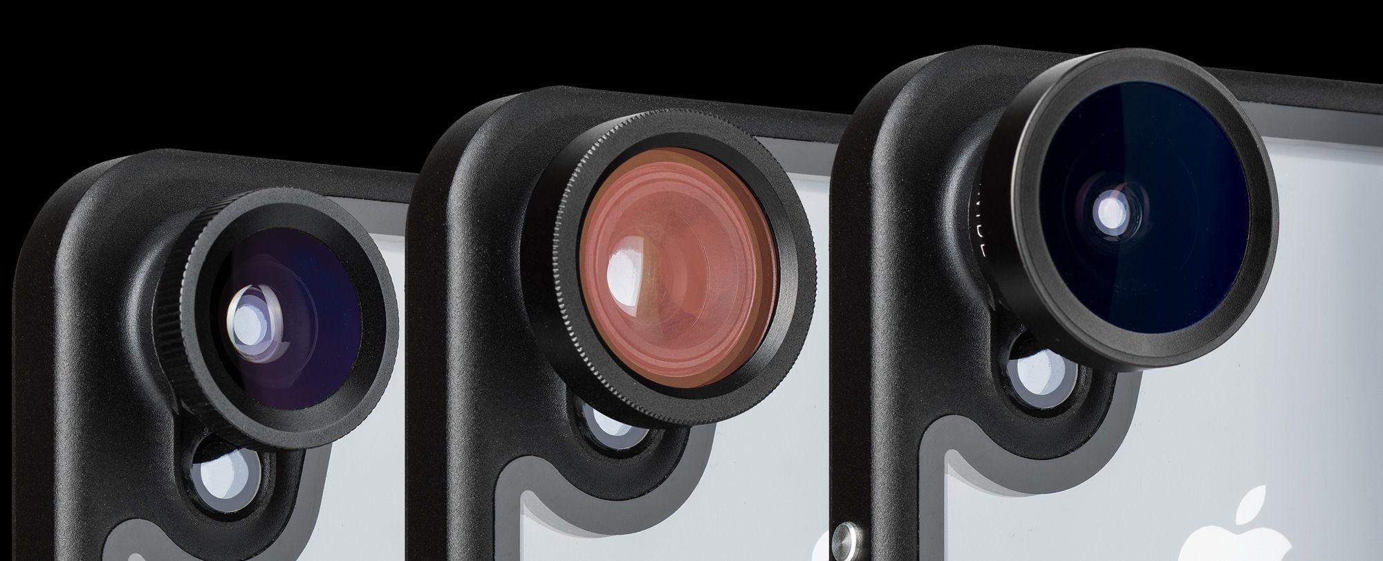 hitcase pro waterproof iphone case with truelux optics lenses