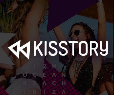 Pool party Kisstory O beach club Ibiza pool parties calendar