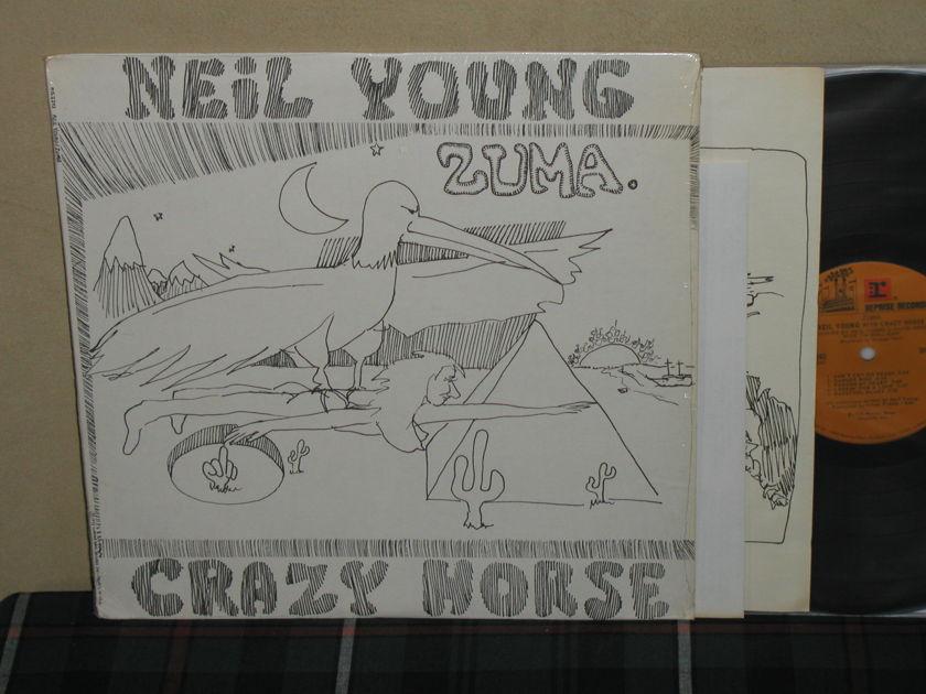 Neil Young  - Zuma Still in Shrink Mint