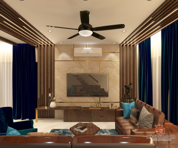 s-k-y-design-studio-industrial-modern-vintage-malaysia-selangor-living-room-3d-drawing-3d-drawing