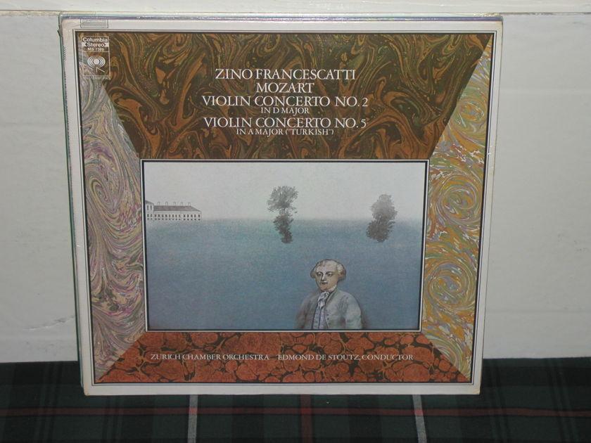 Francescatti/De Stou - Mozart Violin Cto.2/ Columbia MS 7389 LP SEALED