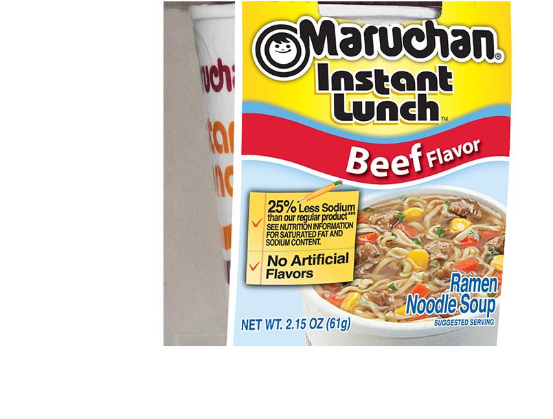 25% Less Sodium Beef Flavor