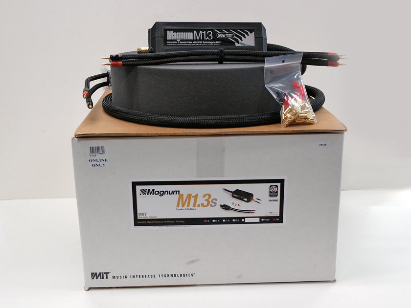 MIT Magnum M1.3 8ft pair, 60% OFF! New-in-Box