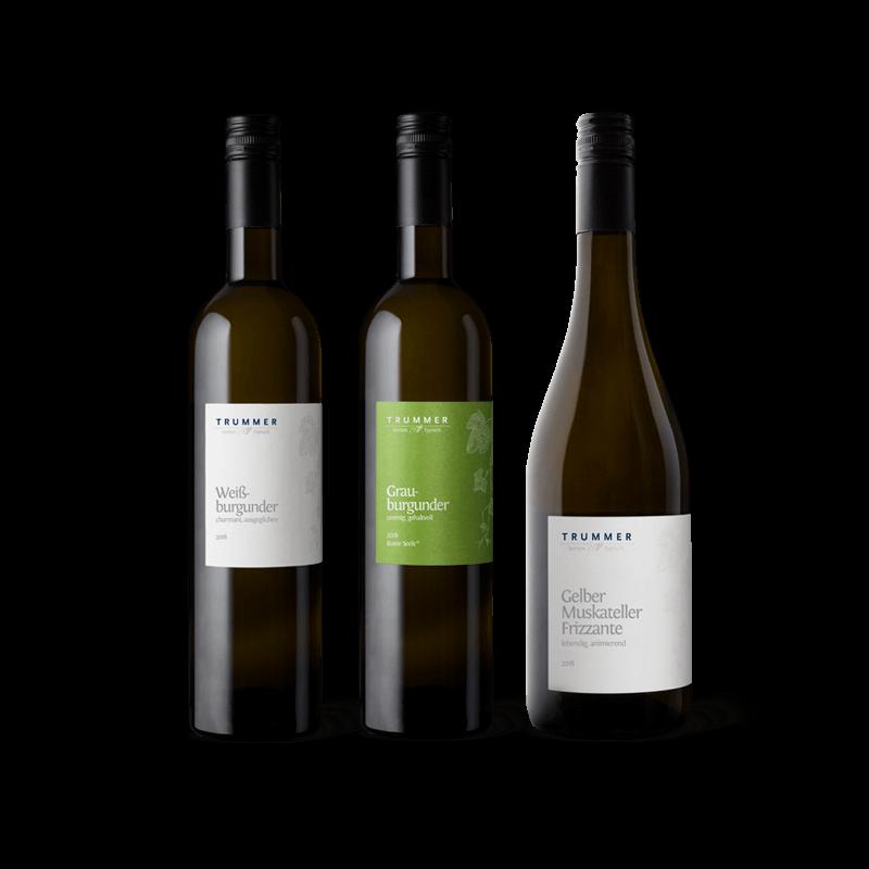 Weingut Trummer Flaschen Basiswein, Reine Seele, Frizzante