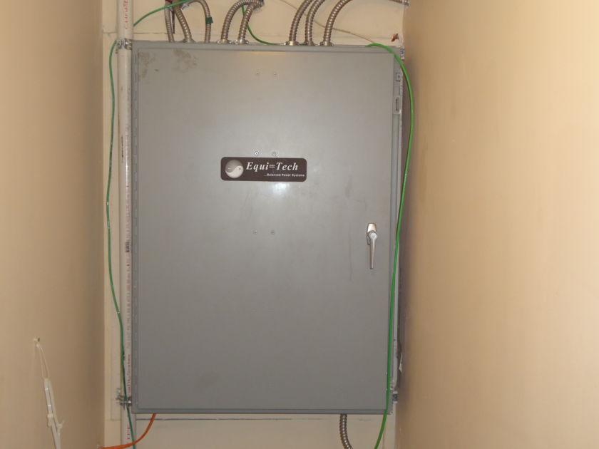 Equitech 5WQ-F2 Complete Circuit Panel