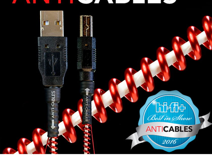 "ANTICABLES ""NEW Release"" Level 3.1 Reference Series USB Digital Interconnect"