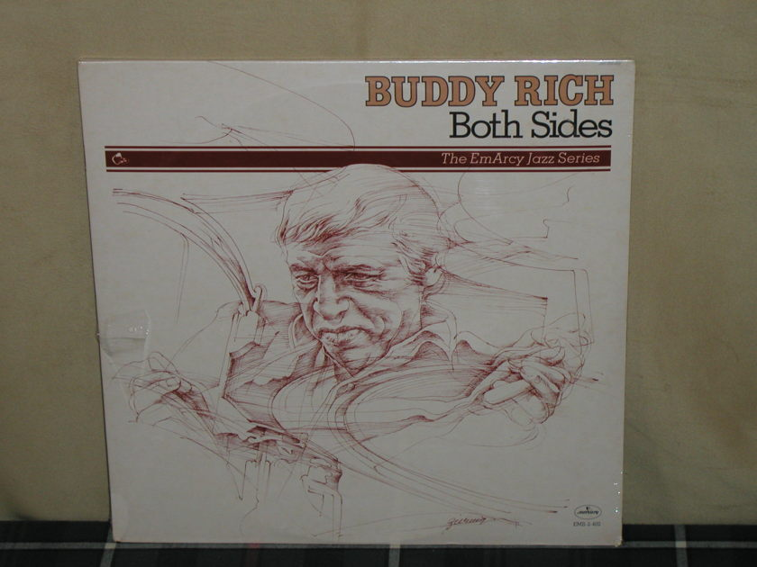 Buddy Rich - Both Sides EmArcy 2LP set STILL SEALED