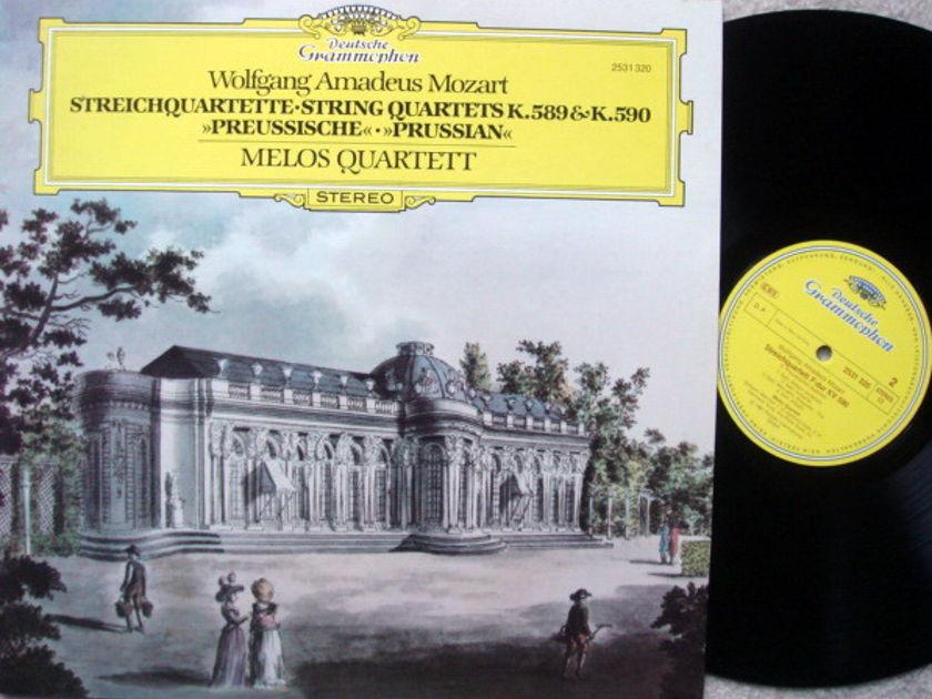 DG / Mozart String Quartets KV.589 & 590, - MELOS QUARTET, MINT!