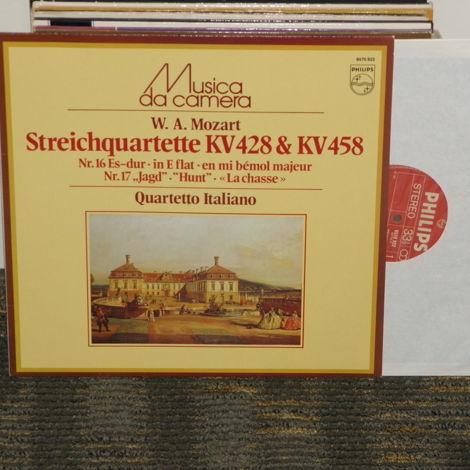 """Quartetto Italiano Mozart """"StringQuartette KV 428& KV 458"""""""