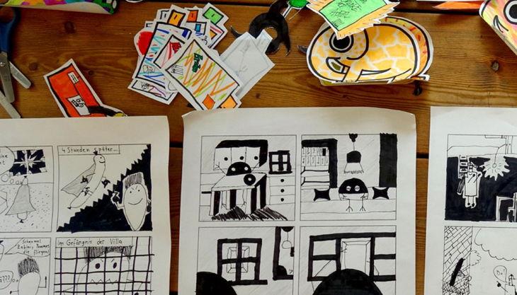 kulturwerkstatt kaos comic