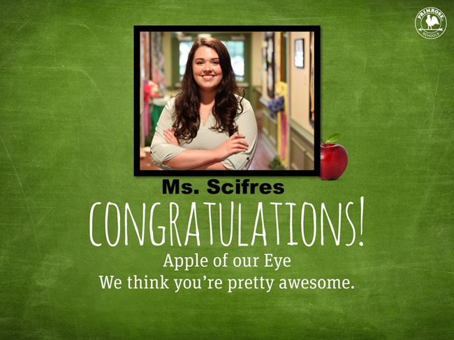 Scifres Apple of Our Eye