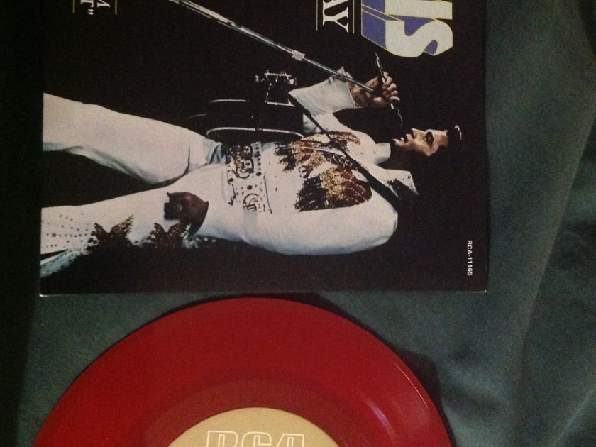 Elvis Presley - My Way Red Vinyl Limited Edition 45 With Sleeve. NM