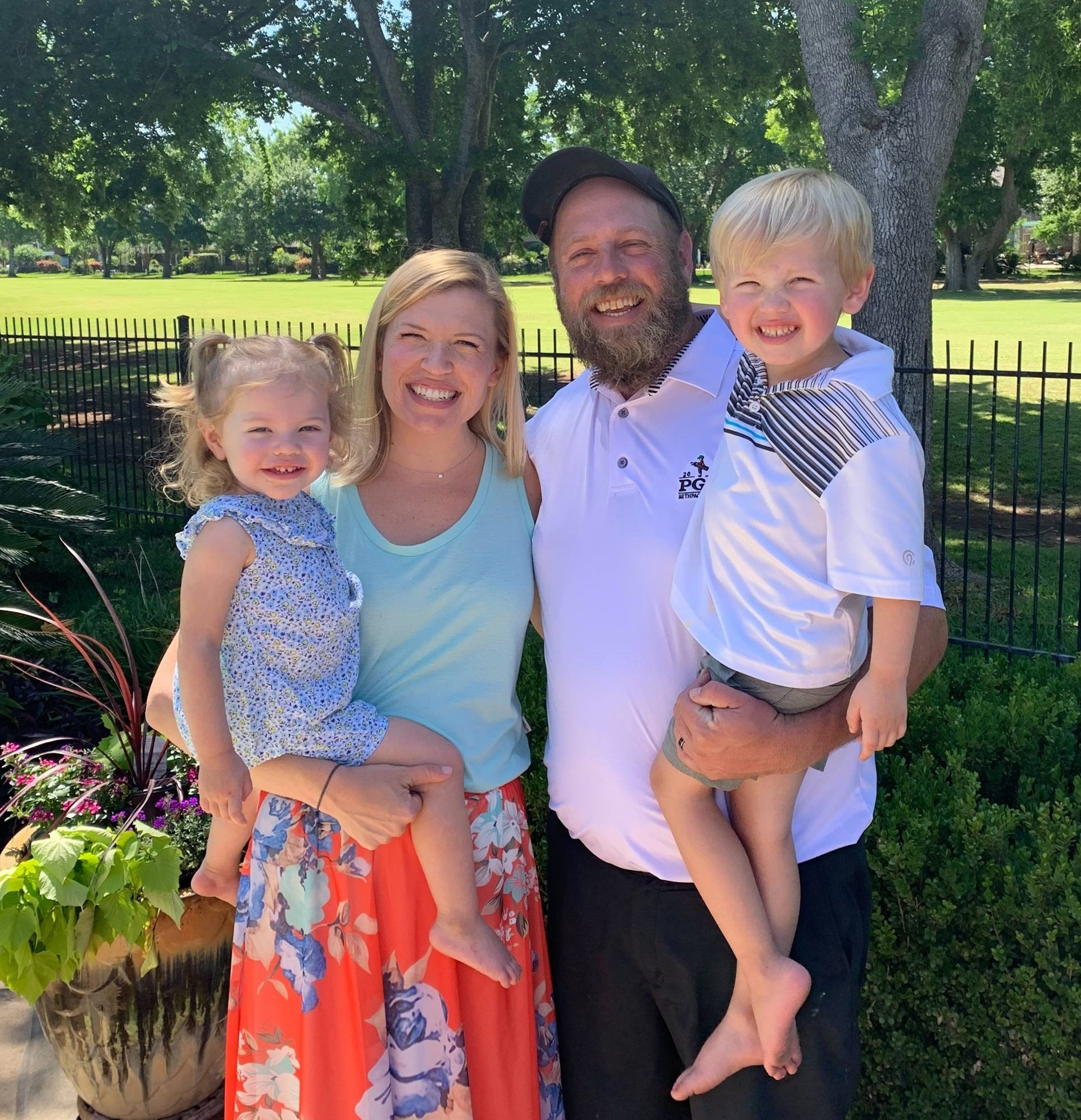 The Strubberg family has children enrolled at Primrose School of Barker Cypress located in Cypress, Texas 77429
