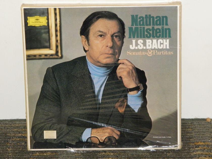 "Nathan Milstein  - JS Bach ""Sonatas & Partitas for Solo Violin"" DG 2721 087 3LP boxset STILL SEALED/NEW"