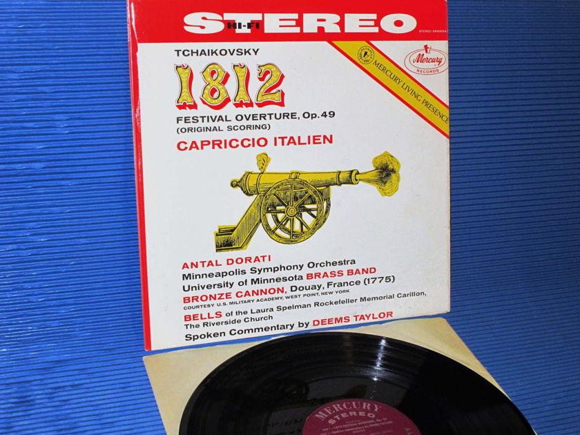 "TCHAIKOVSKY/Dorati -  - ""1812 Overture"" -  Mercury Living Presence 1958 Early Pressing"
